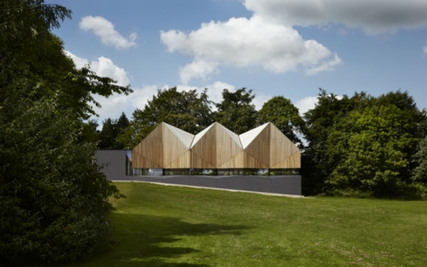 Alfriston Pool Wins Structural Prize in 2014 Wood Awards